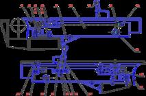 Стол передний С16-42.28.000
