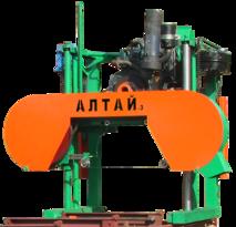 Дизельная пилорама Алтай-3 900 Кубота
