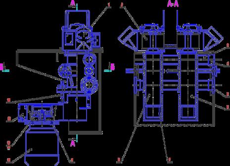 Суппорты вертикальные С16-42.03.000