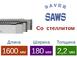 Рамная пила Saver со стеллитом (Длина 1600 мм / Ширина 180 мм / Толщина 2,2 мм)0