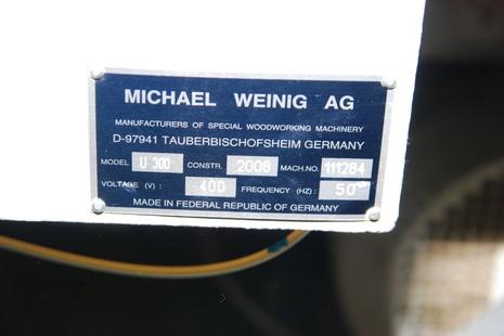 Четырехсторонний станок Weinig Unimat 300 бу