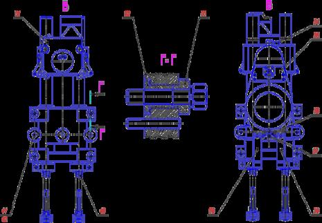 Суппорт верхний С16-42.05.000