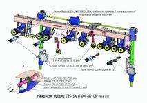 Механизм подачи С25-5А.17.000-07 СБ