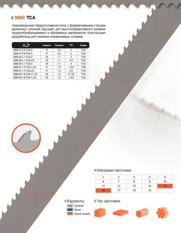 Ленточная пила по металлу Bahco TCA (Ширина 54мм / Толщина 1.6мм)