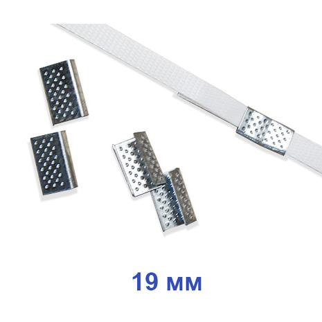 Скрепа металлическая 19 мм