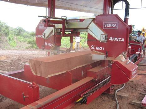 Ленточная пилорама Serra Africa SL130s / SL160s