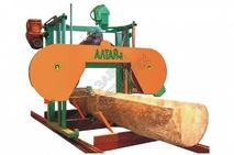 Ленточная пилорама Алтай-3 700у с электродвигателем