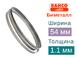 Биметаллическая ленточная пила BAHCO (Ширина 54мм / Толщина 1.1мм)0