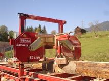 Ленточная пилорама Serra Bavaria SL 110i