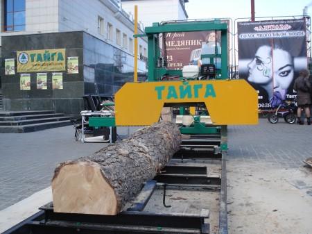 Ленточная пилорама Тайга Т-2Б