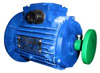 Электродвигатель на редуктор ЛП Тайга в сборе