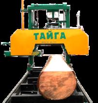 Ленточная пилорама «Тайга Т-3Б» (бензиновая)