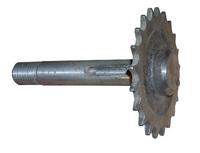 Вал редуктора подъема опускания пильной каретки для пилорам ТАЙГА (Т1,Т1Б,Т2Б,Т3Б)
