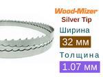 Ленточная пила по дереву Wood-Mizer Silver Tip (Ширина 32мм / Толщина 1.07мм)