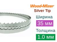 Ленточная пила по дереву Wood-Mizer Silver Tip (Ширина 35мм / Толщина 1.0мм)