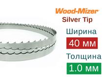 Ленточная пила по дереву Wood-Mizer Silver Tip (Ширина 40мм / Толщина 1.0мм)